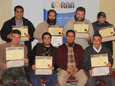 """ليبيا - طرابلس الغرب: اختتام الدورة التخصصية """"مكافحة الحرائق والإنقاذ"""" للمدرب جمعة محمد سلامة"""