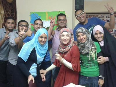 مصر - القاهرة: المدربة الدولية سعاد محمد السيد تختتم فعاليات دورة دبلوم صناعة الابداع