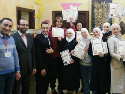 سوريا - دمشق: (بدنا نعيش اللحظة بس بتوازن) سمة دورة إدارة العمر للمدرب محمد زياد الوتار