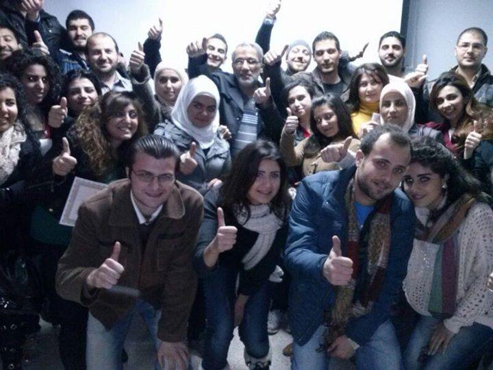 سوريا - دمشق: اختتام دورة فن التفاوض مع المدرب الإستشاري د. محمد عزام القاسم