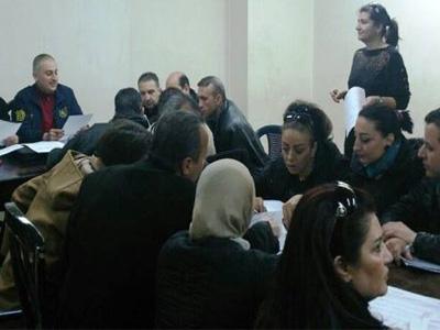 سوريا - دمشق: انتهت  فعاليات دورة المدقق الداخلي في مجال الطيران للمدربة ايزميرالدا حميدان