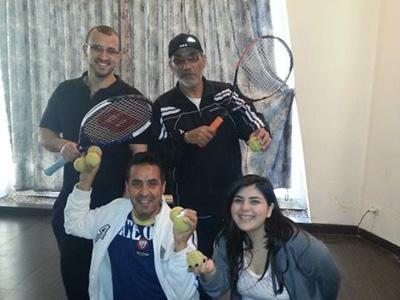 سوريا - اللاذقية: قصة التنس والبرمجة اللغوية العصبية مع الدكتور محمد عزام القاسم