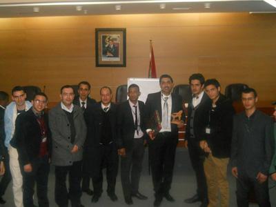 الدار البيضاء - المغرب: محاضرة تدريبية  في فنيات الانجاز عند المهندس الممتاز للمدرب زهير جلول الشرتي
