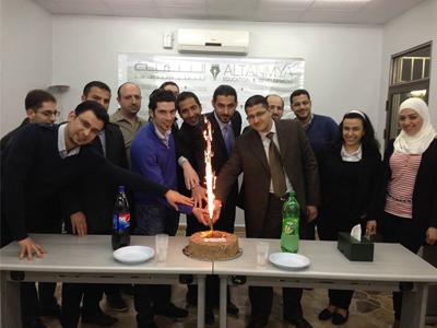 سوريا - دمشق: تخريج الدفعة التاسعة من شهادة المحاسب الإداري المعتمد CMA مع المدرب علاء صالحاني