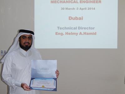 الإمارات - دبي: اسبوع حافل للمدرب حسين حبيب السيد في دبي
