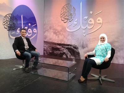 سوريا - دمشق: مقابلة تلفزيونية مع المدرب محمد سامر سويد