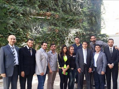 سوريا – دمشق :اختتام دورة دبلوم التحليل المالي المتقدم مع المدرب علاء صالحاني