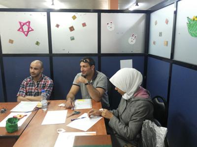 سوريا - دمشق: اختتام دورة الإبداع بالتصميم للمدرب أسامة المصري