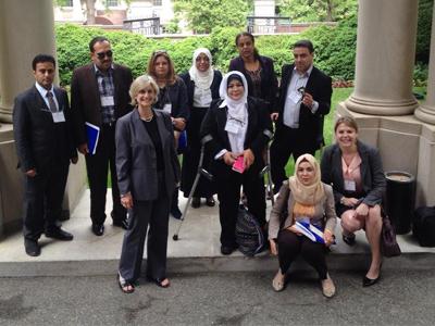 الولايات المتحدة الأمريكية: المدربة سالمة قويدر أول ليبية تشارك ببرنامج القيادة للزائر الدولي