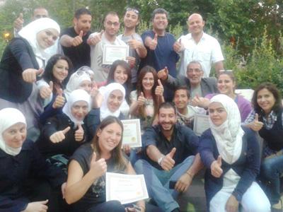 سوريا - دمشق: دورة فن التفاوض بنكهة جديدة مع الاستشاري محمد عزام القاسم