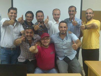 سوريا - دمشق: اختتام دورة مهارات البيع والتسويق ضمن حملة المليون للمدرب همام هندي
