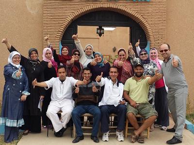 المغرب - تارودانت: دورة قوة الطاقة البشرية بنكهة 2014 مع المدرب عادل عبادي