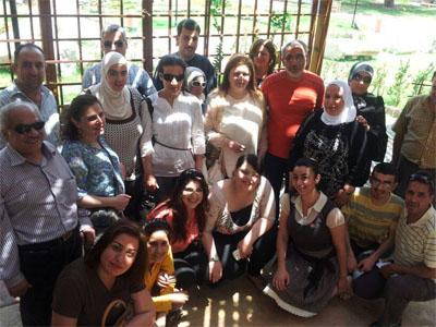 سوريا-اللاذقية: إختتام دورة مهارات التواصل للمكفوفين مع المدرب الإستشاري د.محمد عزام القاسم