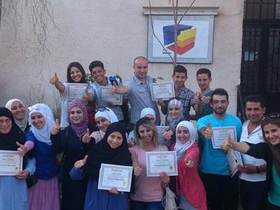 سوريا - دمشق: إختتام دورة  التعامل مع الأشخاص صعبي المراس للمدرب همام هندي تحت عنوان (سعادتي معك)