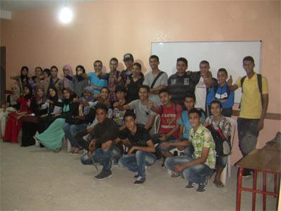 أولاد تايمة - المغرب: أمسية تدريبية تحت عنوان واجه مخاوفك وتوترك باسترخاء مع المدرب ادالكاهية عبد الله