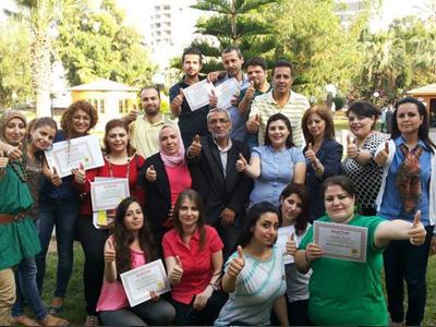 سوريا - اللاذقية: إنهاء دورة فن التفاوض للمدرب الاستشاري د.محمد عزام القاسم
