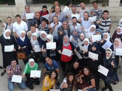 سوريا - دمشق: تكريم الابداع والتميز