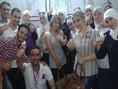 سوريا دمشق: دورة التعامل مع الأشخاص صعبي المِراس