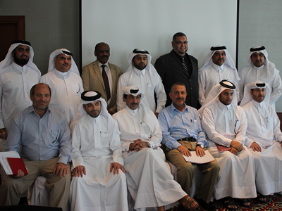 """قطر - الدوحة: ورشة عمل لموظفي مؤسسة الكهرباء والماء القطرية """"كهرماء"""""""