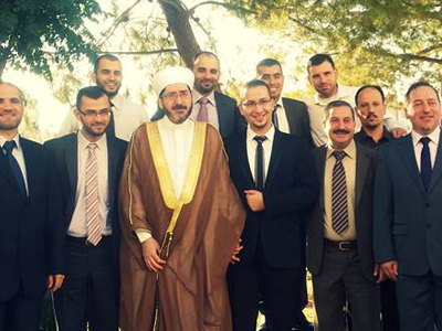 سوريا - دمشق:  مبارك عقد قران المدرب محمد زياد الوتار