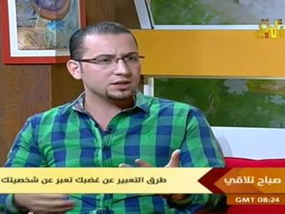 سوريا - دمشق: المدرب محمد زياد الوتار يتحدث عن إدارة الغضب عبر قناة تلاقي