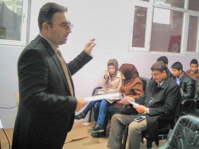 العراق - كركوك: أمسية بعنوان إدارة العمر للمدرب اريان كريم