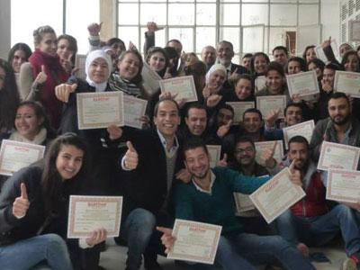 سوريا - دمشق: دورة أكثر من رائعة ومميزة حول إدارة الموارد البشرية مع المدرب الإستشاري د.محمد عزام القاسم