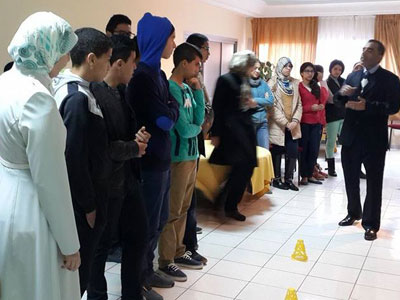 التخطيط وإدارة العمر، مشاركة رائعة للمدربة سميرة أدحلا ضمن أيام دبلوم التأهيل القيادي