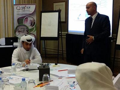 مهارات الحوار والإقناع، دورة لأعضاء النيابة العامة القطرية مع المدرب هشام زكي