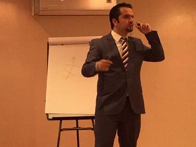 مشاركة المدرب مصطفى عبد الله في إعداد مدربي الإسعافات الأولية