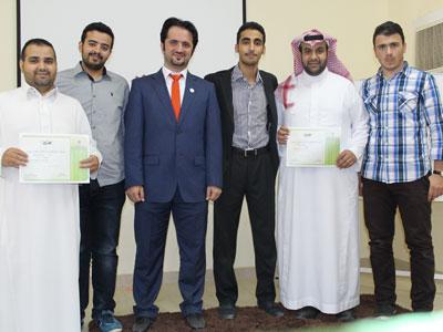 تخريج أول دفعة مدربين إسعافات أولية في الرياض بقيادة  المدرب مصطفى عبدالله