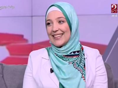 سعاد محمد السيد أول مدربة تنمية بشرية سورية على شاشة mbc مصر2