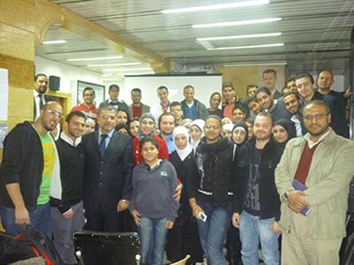 """""""تنمية المهارات الشخصية أدوات وأساليب"""" أمسية تدريبية للمدرب الدكتور محمد راتب الشعار"""