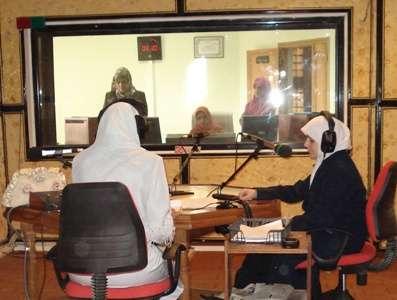 Algeria – Laghouat : Al Sohoob Radio Station interviews trainer Douha Fattahi twice.
