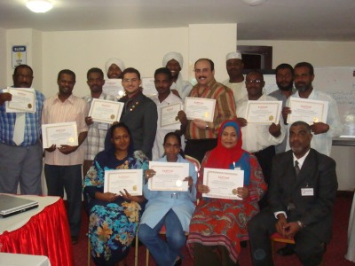 Khartoum; Sudan: for the first time, NLP Diploma by using Accelerated Learning Techniques at ILLAFTrain-Khartoum