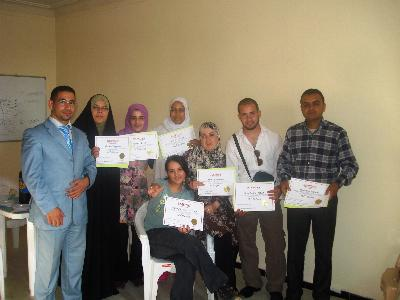 Algeria - the Capital: the Completion of a Unique Course of NLP by Trainer Salaheddin Djilah