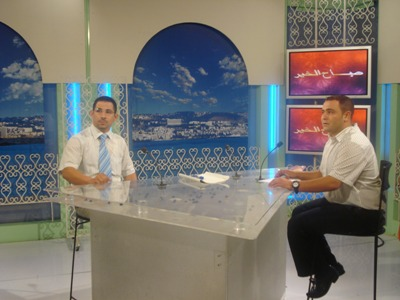Algeria-the Capital: the Algerian telecasting hosted trainer Salaheddin Djilah