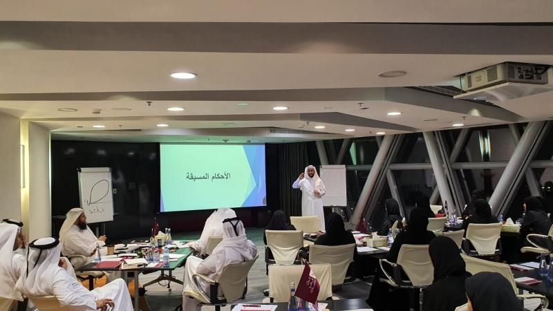 هندسة النجاح، ورشة تدريبية مع المدرب أول حمزة الدوسري والتي قدمها في مركز قطر للقيادات