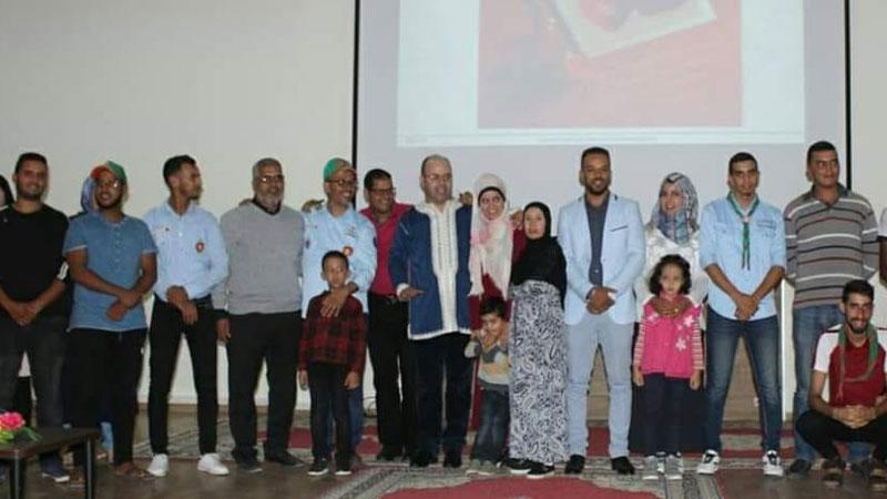 المدرب أول عادل عبادي في ورشة تدريبية بعنوان أساليب التربية الناجحة