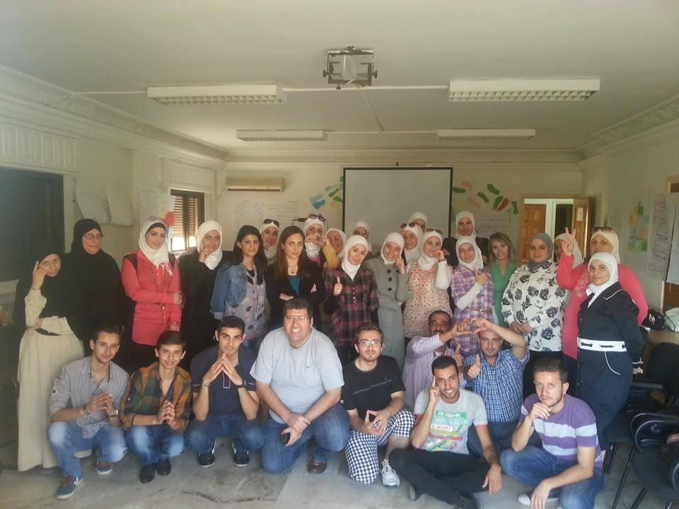 سوريا – دمشق: إنتهاء دورة دورة لغة الجسد للمدرب همام هندي ومساعديه فراس صفر ونور الحلبي