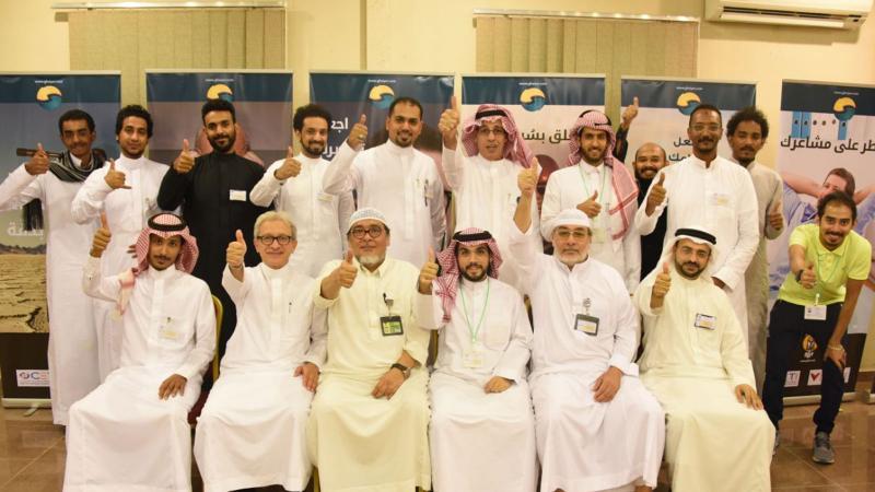 خدمة حجيج بيت الله الحرام في دورة استراتيجيات التواصل التي قدمها المدرب عبد الرحمن إسماعيل