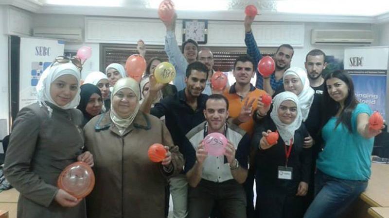 سوريا - دمشق: دورة لغة الجسد للمدربتين بروج عمر وهدى زكريا