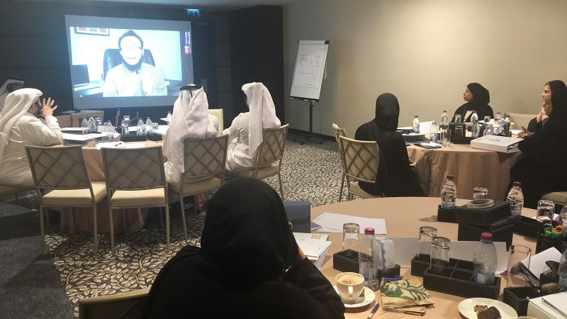 إيلاف ترين الدوحة بالتعاون مع مركز قطر للمال والأعمال تختتم دورة إدارة المشروعات الاحترافية
