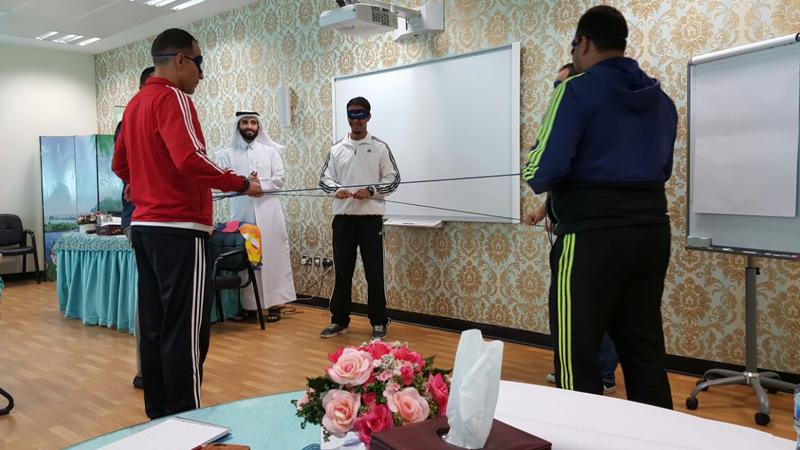 ورشة مهارات الإتصال الفعال للجنة المتطوعين في مؤتمر التعليم 2016 بمشاركة المدرب حمزة الدوسري