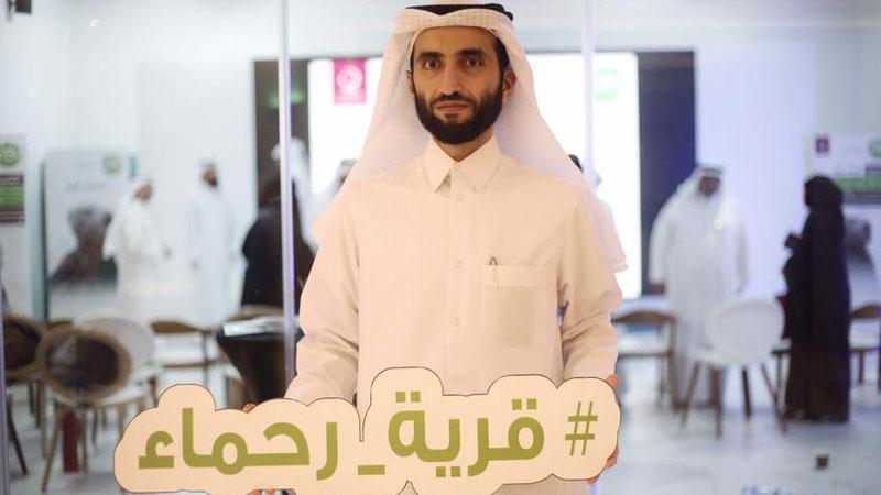 مباردة إنسانية رائعة من المدرب أول حمزة الدوسري ومشاركته في دعم قرية رحماء