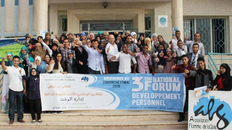 مشاركة المدرب أول عادل عبادي ضمن أنشطة الملتقى السنوي الثالث للتنمية الذاتية