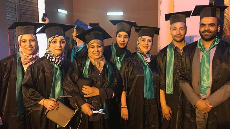 مبارك للمدربة أمل حصولها على درجة الماجستير في بيداغوجيا التركيب للاستشارات التربوية