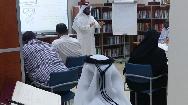 """""""النجاح الوظيفي والعائلي"""" عنوان ورشة تدريبية بقيادة المدرب أول حسين حبيب السيد"""