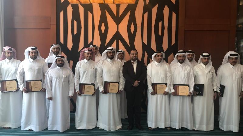 إيلاف ترين قطر تختتم دورة فن لغة الجسد لصالح الديوان الأميري