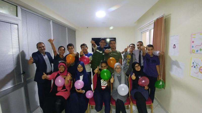 الذكاء العاطفي سر النجاح مستقبلا دورة للمدرب عبد الله أدالكاهية لمجموعة من الشباب اليافع